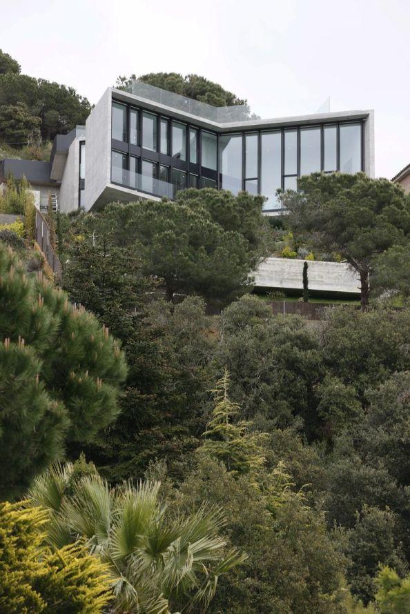 proiect casa moderna,  case moderne, casa moderna spania, case 2013