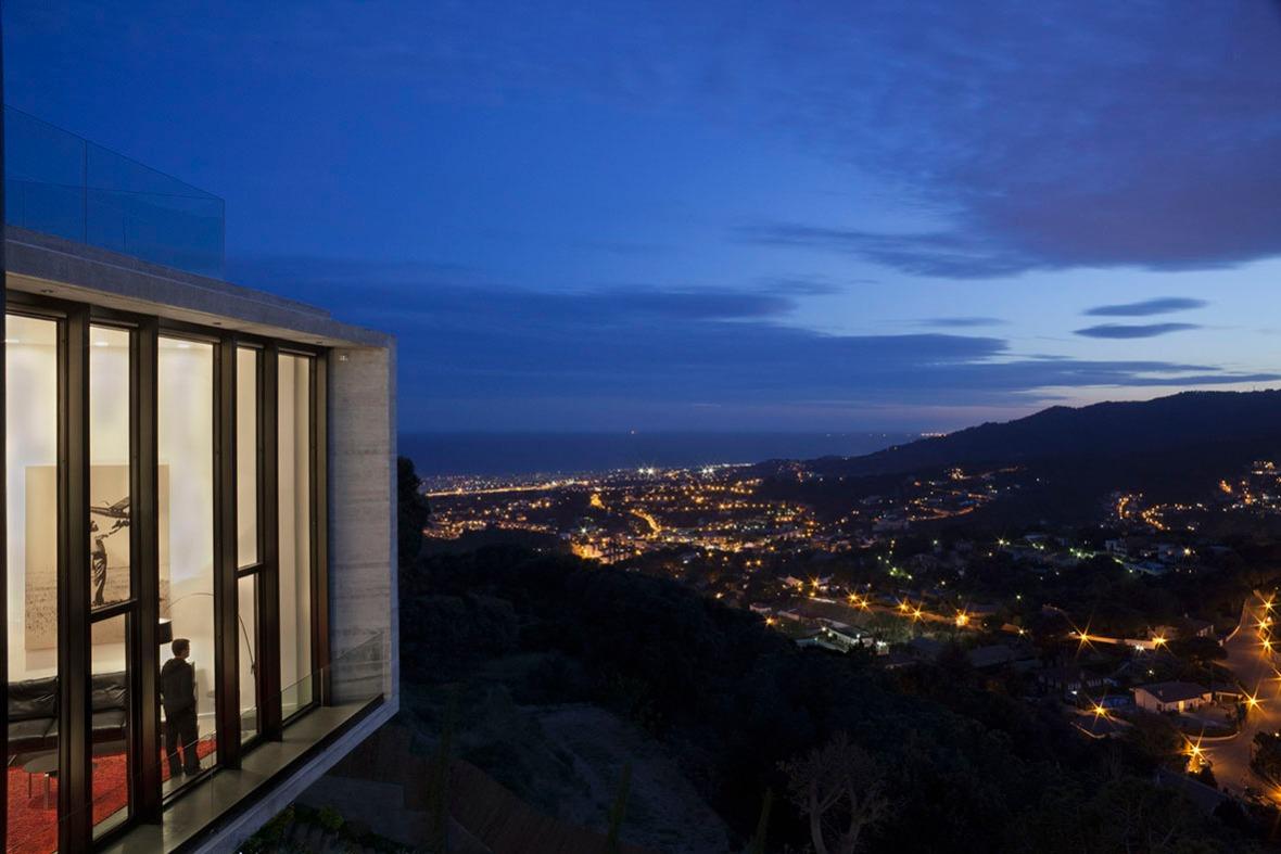 proiect casa moderna,  case moderne, casa moderna spania, case 2013, proiect casa moderna Barcelona