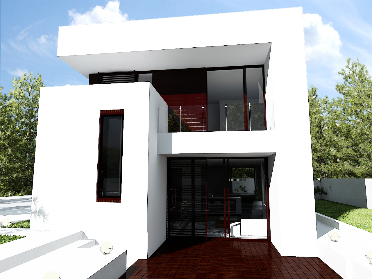 Casa moderna aw 008 proiect casa 13 arhipura for Case moderne