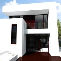 Casa moderna AW 008 / proiect casa 13