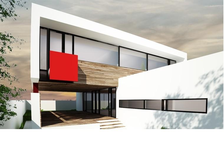 prezentul - Casa Cub Moderne