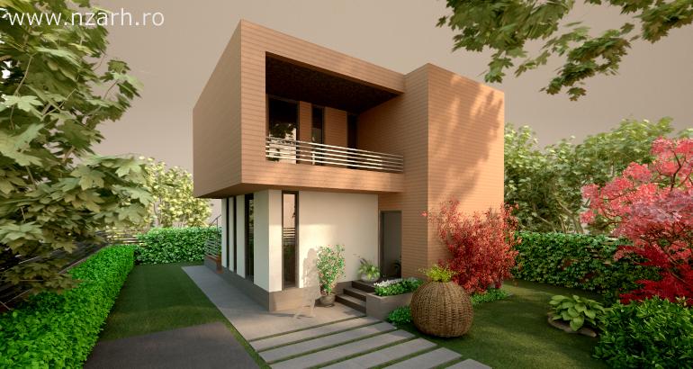 Casa mica si moderna / proiect casa 20 – arhipura