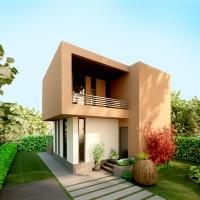 Casa mica si moderna / proiect casa 20