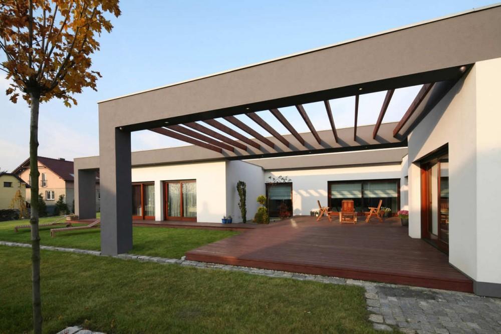 Casa m polonia arhipura - Material para fachadas exteriores ...