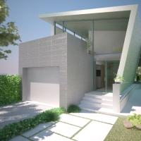 Casa pe teren ingust / proiect casa 22