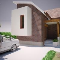 Casa pe teren cu suprafata mica | proiect casa 24
