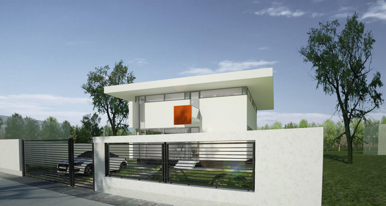 Casa unifamiliala in pipera proiect casa moderna 25 for Case moderne