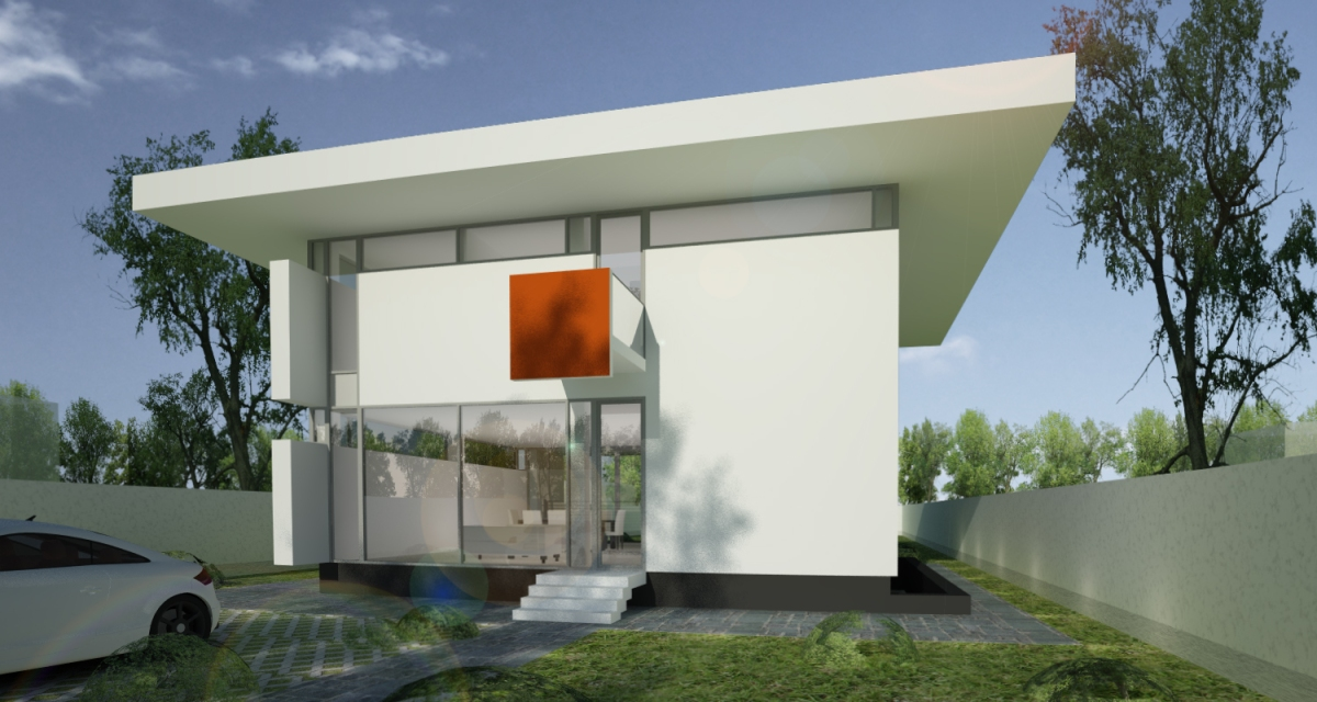 Casa unifamiliala in Pipera | proiect casa moderna 25