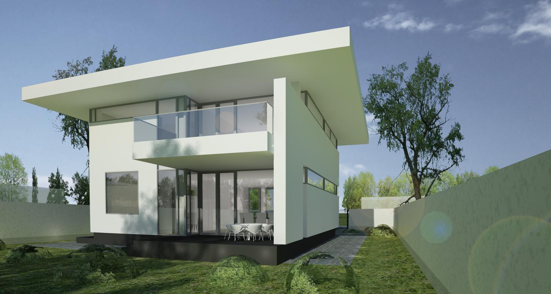 Casa unifamiliala in pipera proiect casa moderna 27 for Casa cub moderne