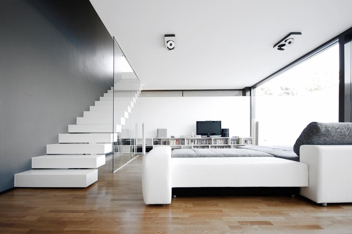 case moderne 2013, proiect casa moderna, proiecte case, casa simpla, casa moderna, arhipura, living modern, camera de zi, scara