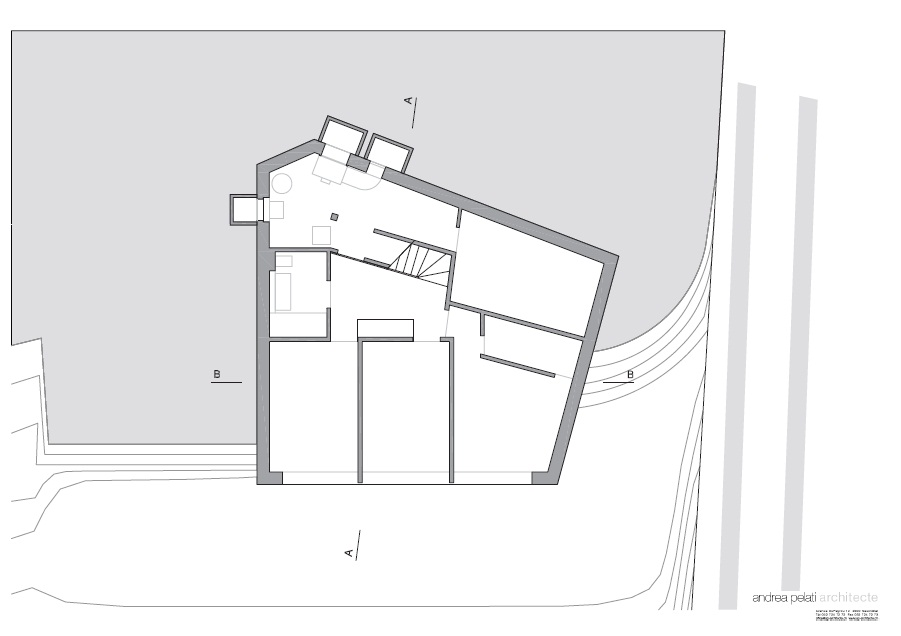 proiecte case moderne_ arhipura _clottu-villa-andrea-pelati-architecte_plan