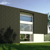 Locuinta moderna pe teren ingust | proiect casa moderna 31
