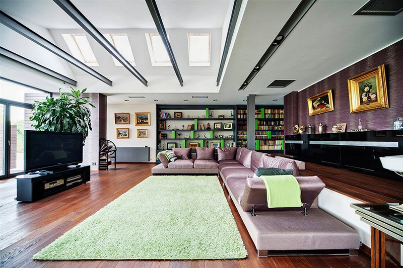 Casa moderna in baneasa arhipura for Interioare case moderne