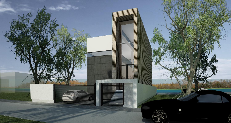 Casa moderna pe teren ingust proiect casa moderna 35 for Casa moderna 2014 espositori