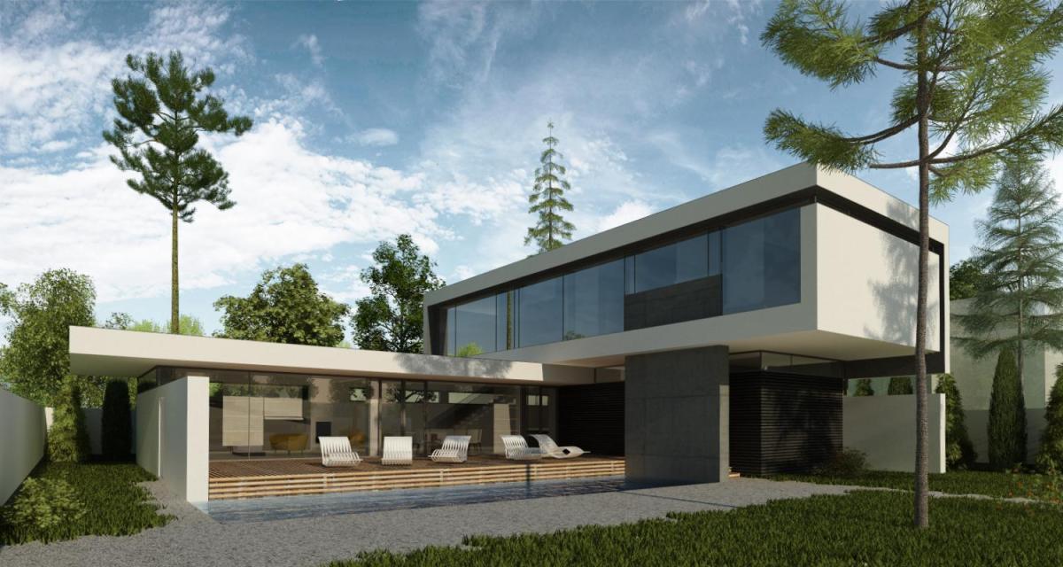 Locuinta la malul marii | proiect casa moderna 36