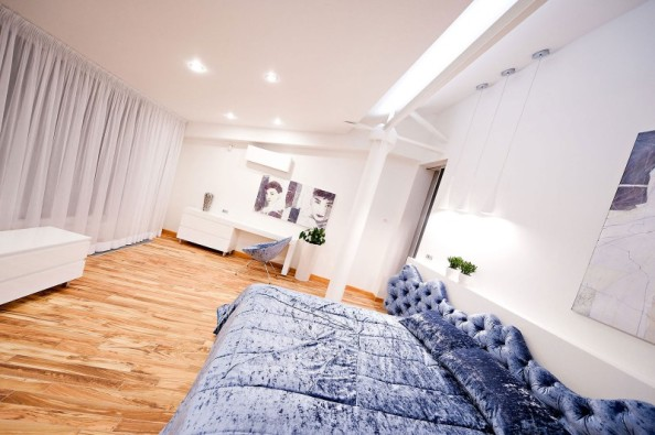 loft apartment, amenajare interioara de lux, modern interiori design at top level, moder design loft apartment, dormitor amenajat luxos, dormitor king size