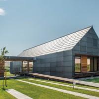 Casa din lemn cu emisii reduse de CO2 | Danemarca