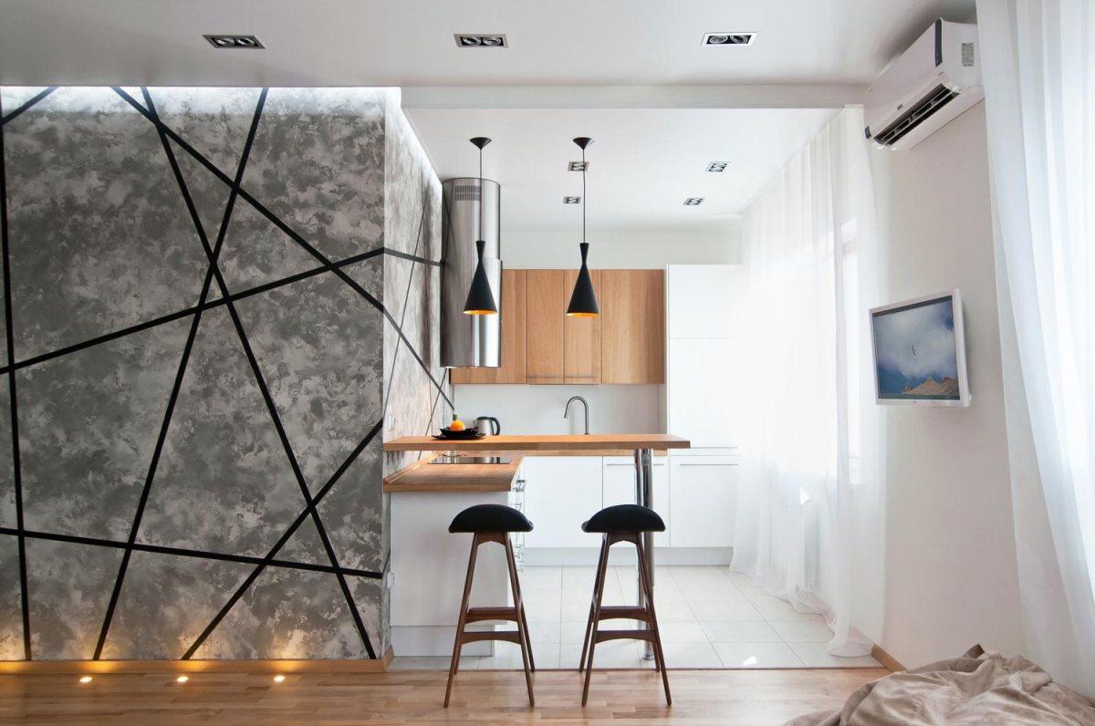 Amenajarea ingenioasa a unui apartament foarte mic