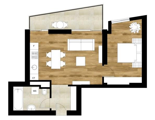 arhipura_amenajare apartament uranusplan