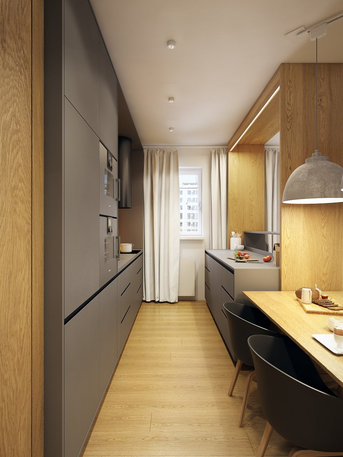gray-and-wood-kitchen
