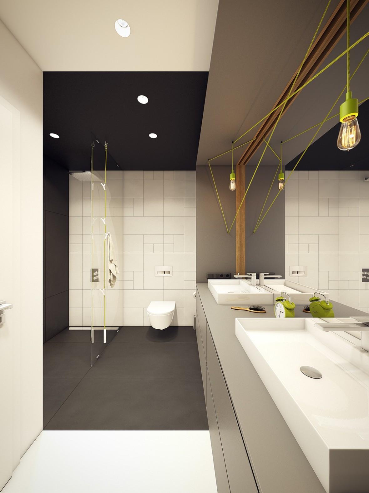 lime-green-and-black-bathroom-ideas