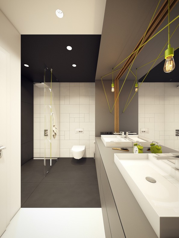 lime-green-and-black-bathroom-ideas