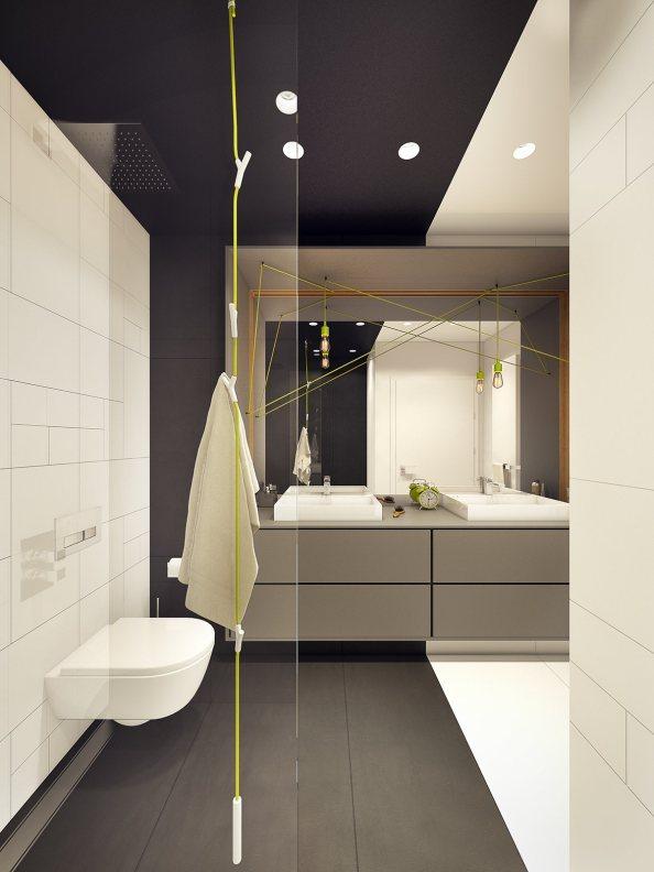 lime-green-and-gray-bathroom