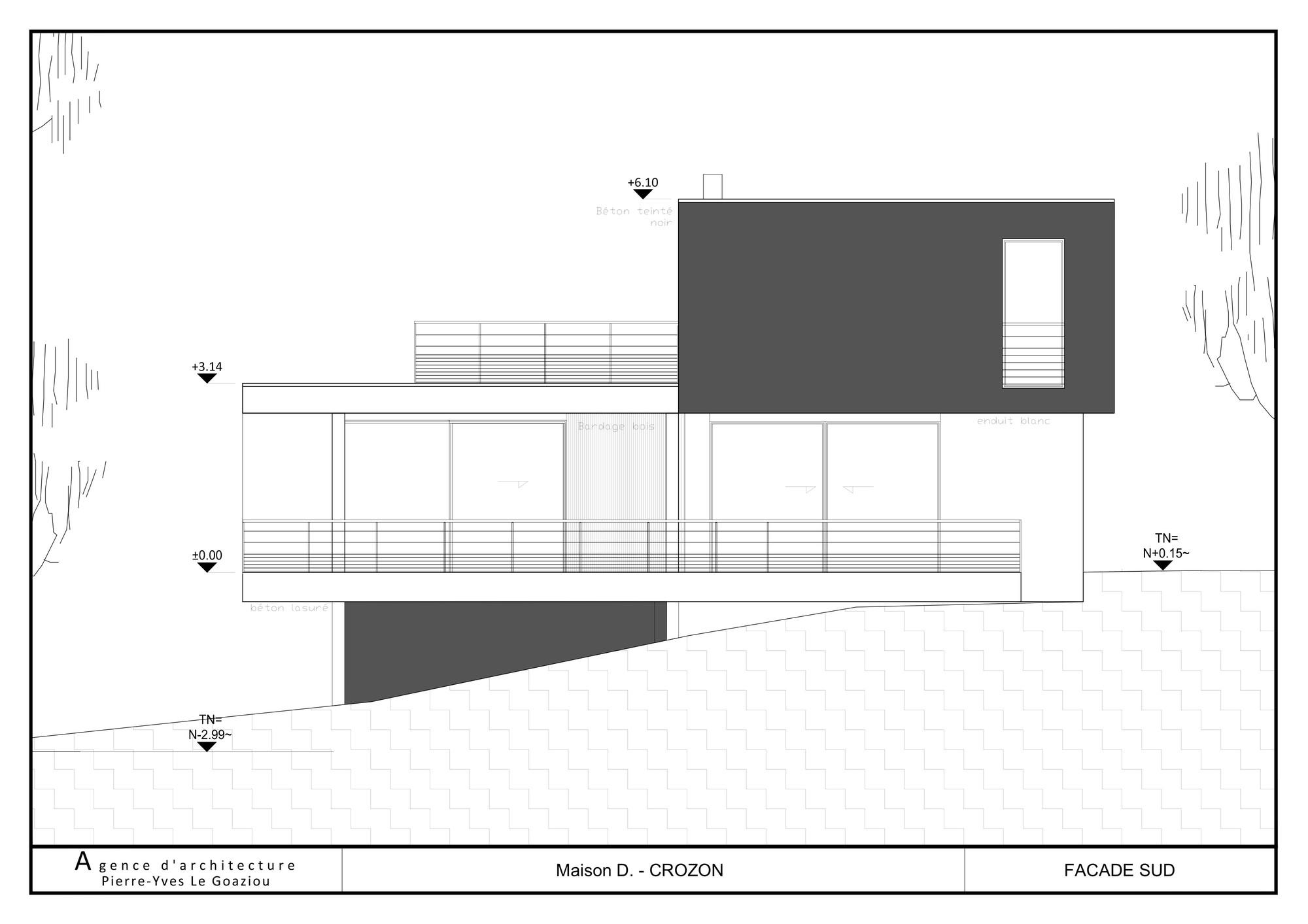 casa moderna de vacanta la malul marii franta arhipura. Black Bedroom Furniture Sets. Home Design Ideas