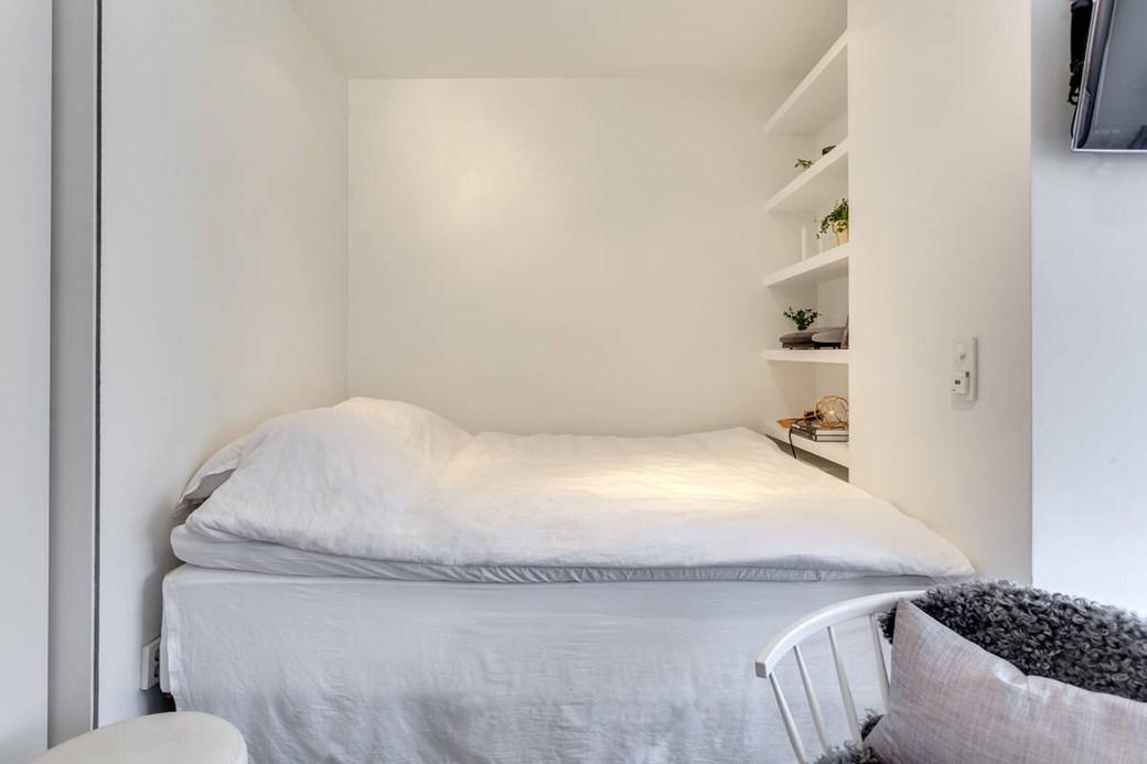 Patul în dulap într-o garsonieră de 34 m² 9