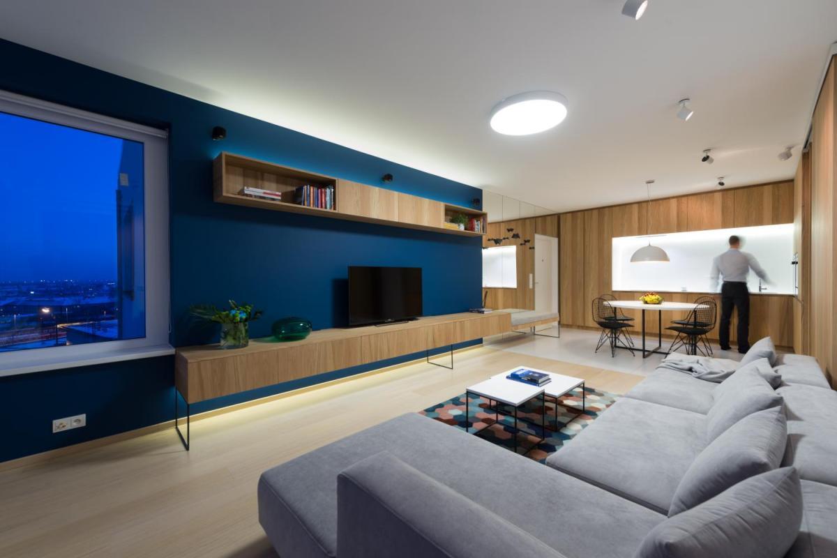 Amenajarea interioara a unui apartament cu 2 camere