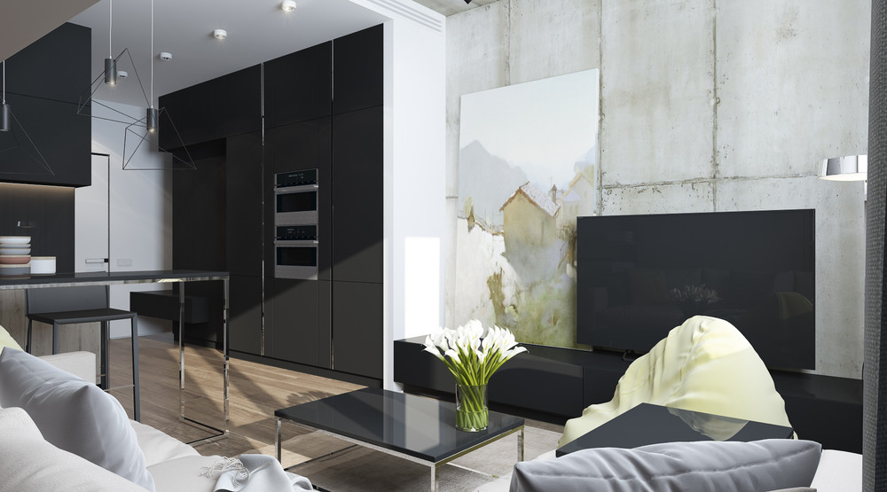 artistic-industrial-home-design