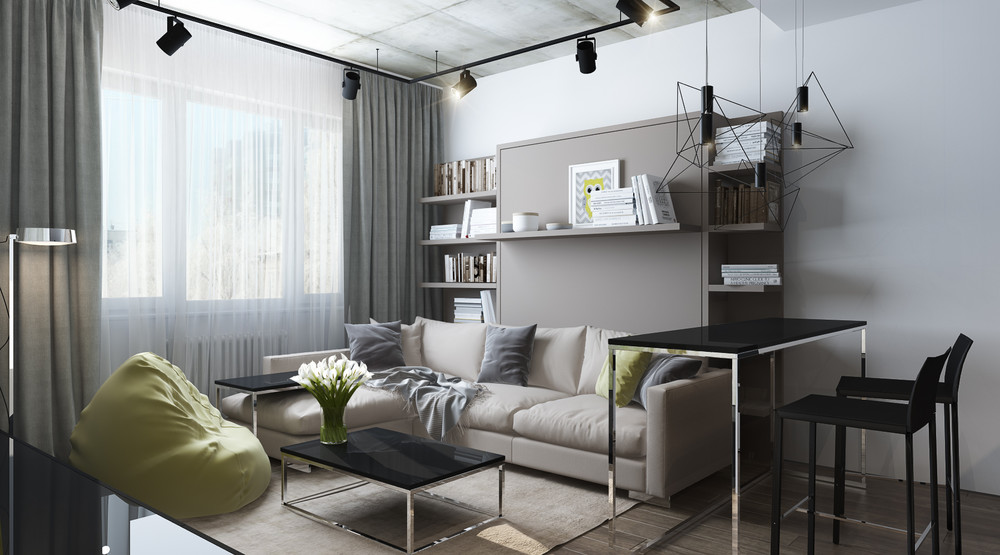 green-and-gray-apartment-design