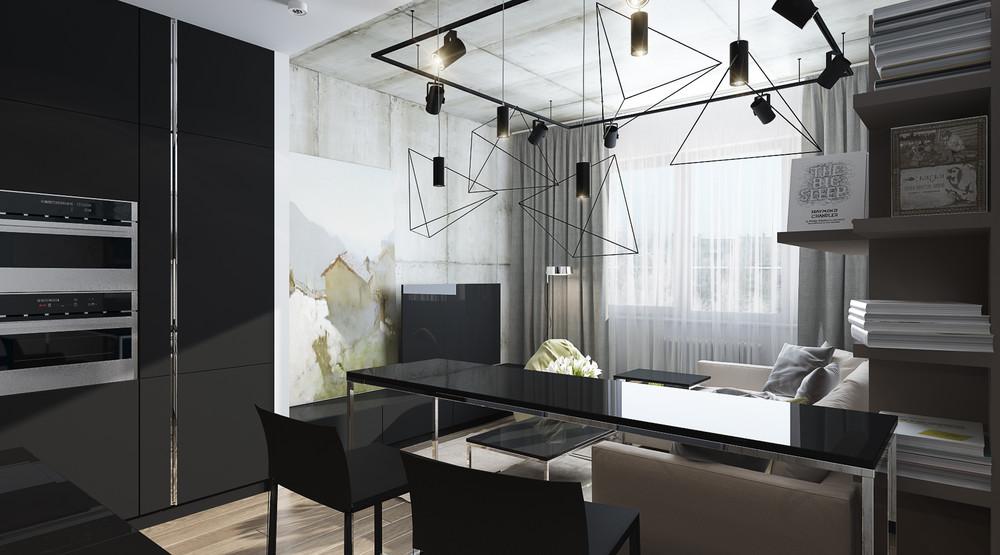 minimalistic-industrial-studio