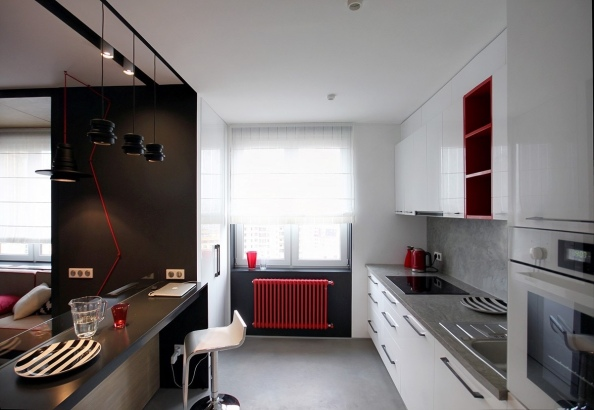 red-painted-radiator