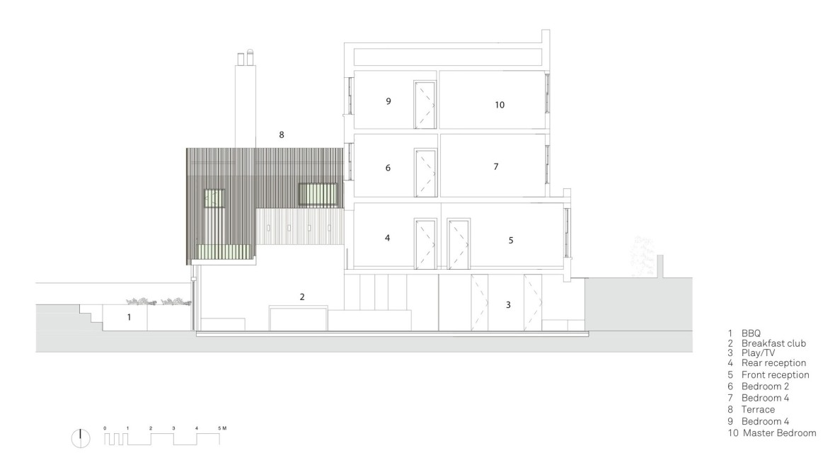 Section_extindere casa ingusta_arhipura
