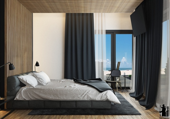20incredible-headboard-centerpiece-bedroom-deisng-gray