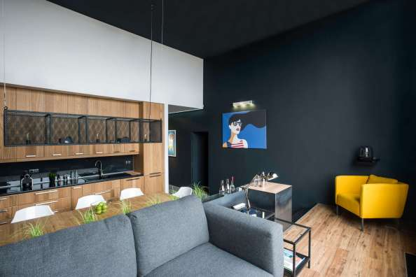 Accent-Wall-Black-Accent-Wall