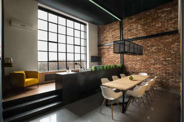 Modern-Loft-Brick-Wall