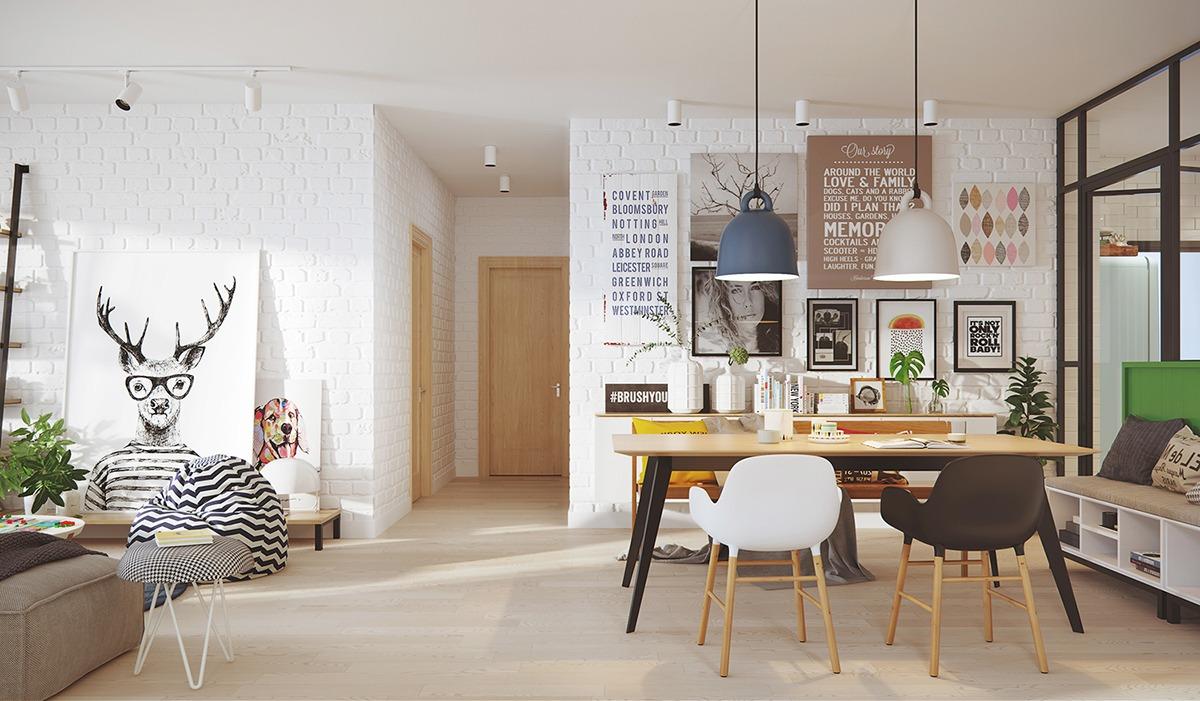 Doua amenajari moderne in stil scandinav arhipura for Einrichten design