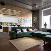 Apartament cu o atmosfera placuta in stil industrial