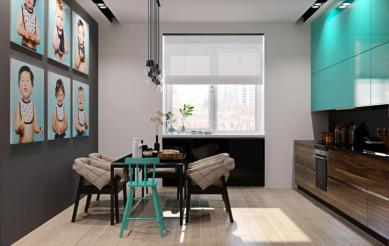 Apartment-for-a-young-family-4_arhipura_amenajare moderna turcoaz