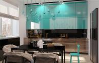 Apartment-for-a-young-family-5_arhipura_amenajare moderna turcoaz