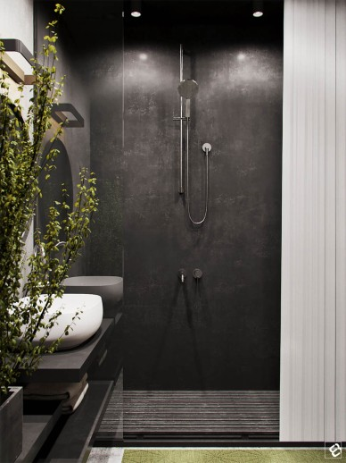 black-bathroom-design-1