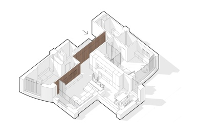 single-bedroom-apartment-with-media-room-floor-plan