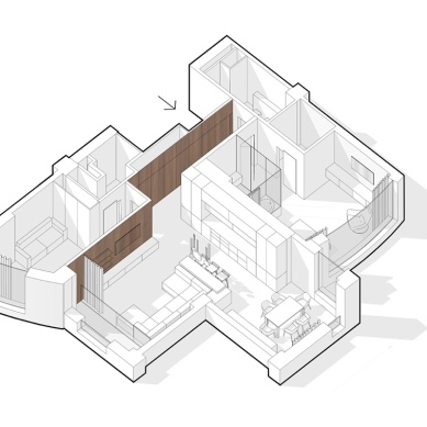 single-bedroom-apartment-with-media-room-floor-plan
