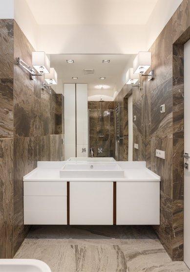 sophisticated-dark-brown-bathroom-wall-tiles