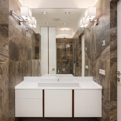 sophisticated-dark-brown-bathroom-wall-tiles