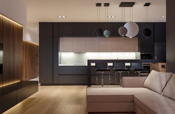 unique-flat-round-kitchen-pendant-lights
